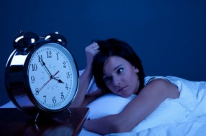 Insomnia is trouble falling asleep or staying asleep through the night.
